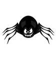 Funny freaky spider vector image