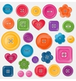 Set of colored buttons vector | Price: 1 Credit (USD $1)