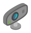 Web camera icon cartoon style vector image vector image