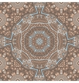 absract seamless geometric mosaic print vector image vector image