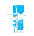 Alternative Energy Wind Farm vector image