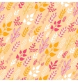 Autumn Filed In the Wind Seamless Pattern vector image vector image