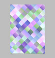 colorful gradient abstract diagonal square vector image vector image