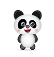 cute Panda smiling vector image