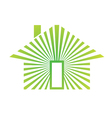 House Energy Green vector image