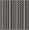 ikat wave grey seamless pattern vector image vector image