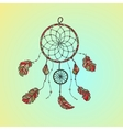 Indian-American dream catcher vector image vector image