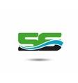 56th Year anniversary design logo vector image