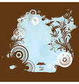 6floral line 39 2 vector image vector image