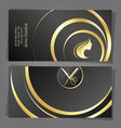 business card stylist and hair care vector image vector image