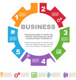 BusinessIdea-07 vector image vector image