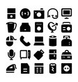 Electronics icons 7 vector image vector image
