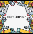 labor day celebration and patriotism holiday vector image vector image