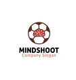 Mind Shoot Design vector image