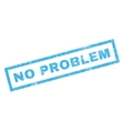 No Problem Rubber Stamp vector image vector image