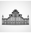 Ornamental Gate vector image