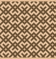 pixelated chocolate brown square pattern vector image vector image