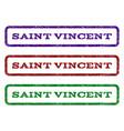 saint vincent watermark stamp vector image