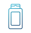 shampoo bottle product vector image vector image