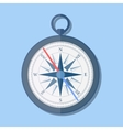 stylish flat design Compass Icon vector image vector image