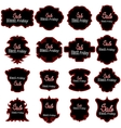 Black Fridays Labels vector image vector image