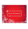 christmas and new year typographical on background vector image vector image