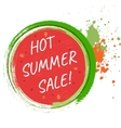 Hot sale design template vector image vector image
