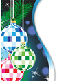 Mysterious Christmas background vector image vector image