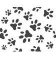 paw icon design vector image vector image