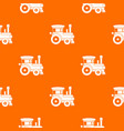 toy train pattern seamless vector image vector image