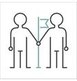 Community team friendship teamwork social group vector image