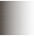 background halftone for your designs hallftone vector image vector image