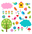 Birdstrees and bubbles for speech vector | Price: 1 Credit (USD $1)