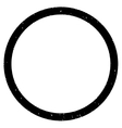 Circle Grainy Texture Icon vector image vector image