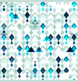 diamond seamless pattern grunge effect vector image vector image