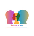 foster care concept vector image