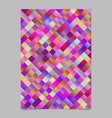 geometrical modern abstract diagonal square flyer vector image vector image