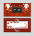 hand drawn graphic modern merry christmas vector image