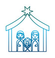holy family design vector image vector image