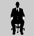 business man black and white 15 vector image