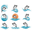 carp fish set vector image vector image