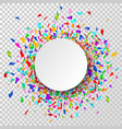 celebration background background with colorful vector image vector image