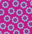 flower wrapping paper vector image vector image