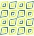 Green diagonal ethnic geometric pattern vector image