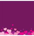 love love background design vector image vector image