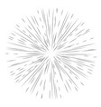 star burst element vector image vector image