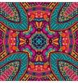 ethnic tribal seamless colorful Geometric print vector image