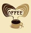 Coffee aroma vector image