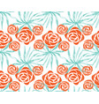 exotic bouquet pattern vector image vector image