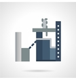 Industrial architecture flat icon vector image